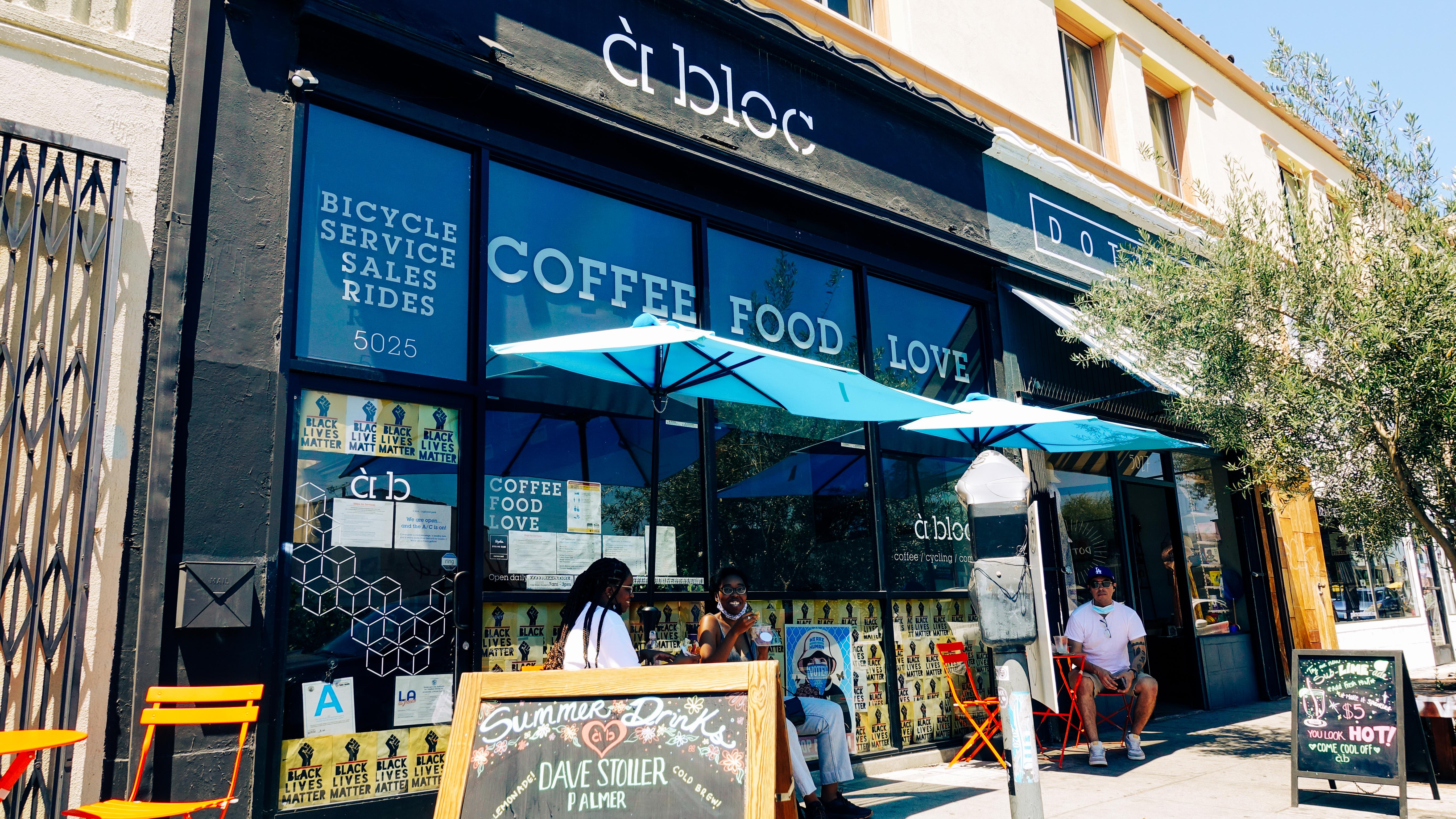 à bloc LA - coffee / food / love