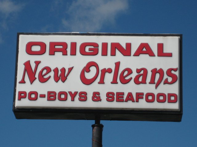 Original New Orleans Poboy and Seafood